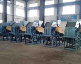 Maintenance And Lubrication Of Tin Plate Scrap Metal Shredder