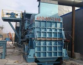 How to maintain scrap crushing machine in the market?