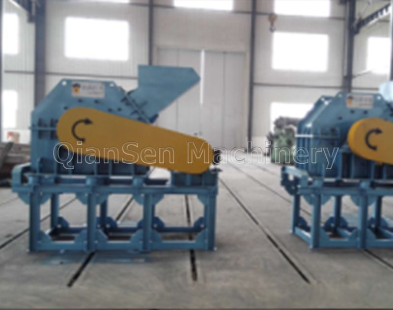 Paper Crushing Machine