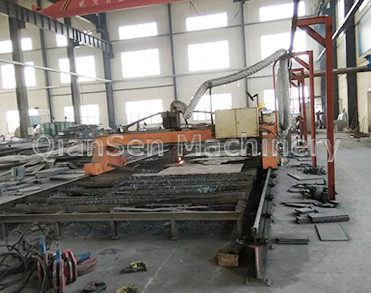 Numerical Controlled Flame Cutting Machine